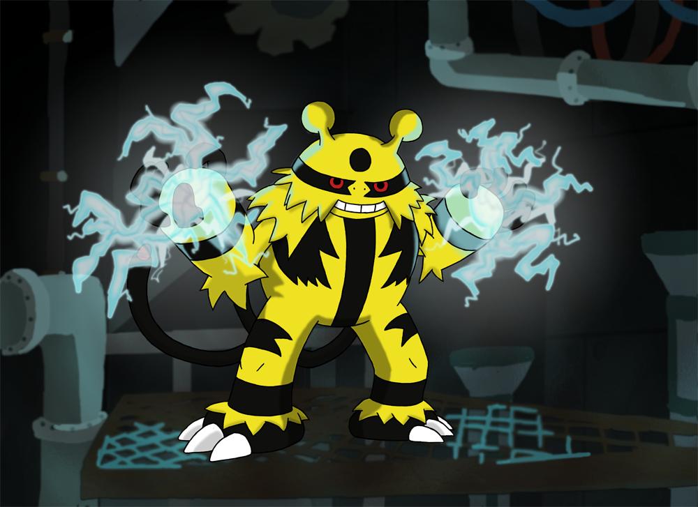 legendary electric pokemon - photo #34