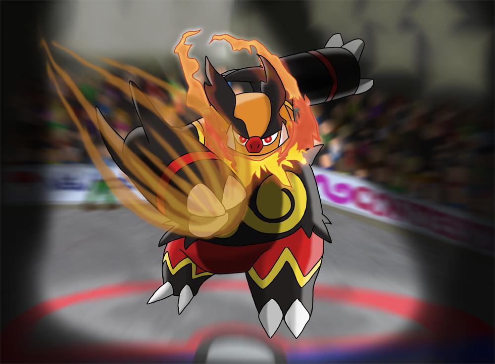 favourite fightingtype pokemon emboar by kumata on