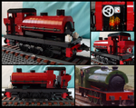 Lego Saddle Tank Engine