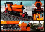 Lego Saddle Tank Engine - small