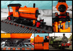 Lego Saddle Tank Engine - small