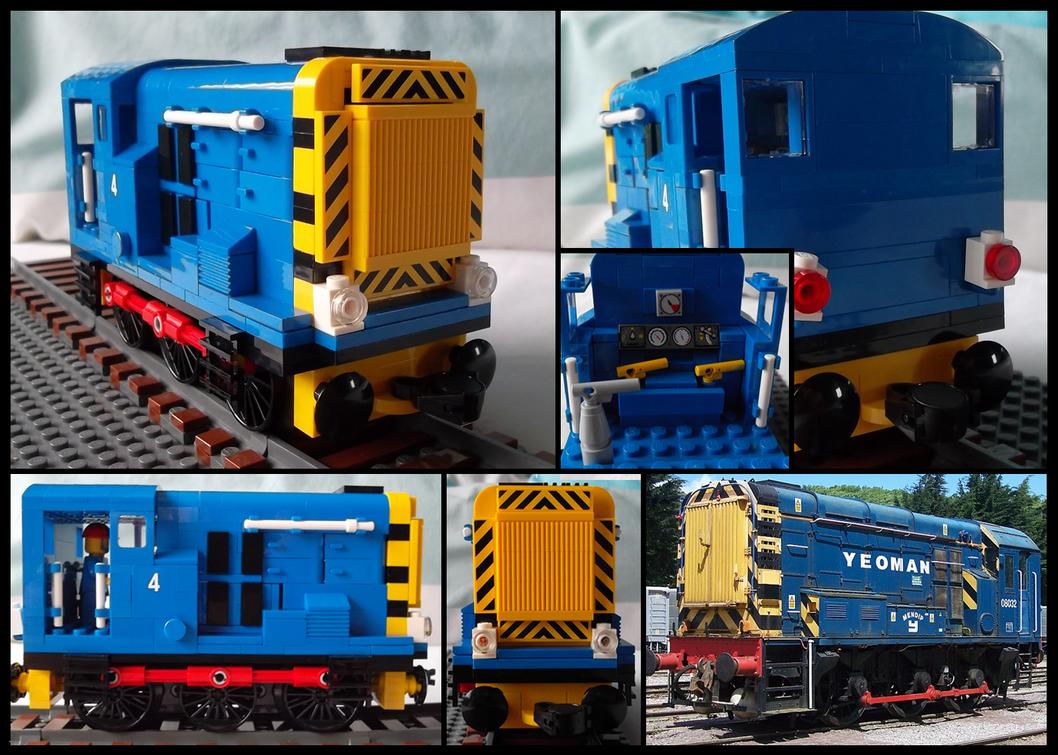 Lego British Rail Class 08 Shunter by Kumata