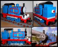 Lego Thomas the Tank Engine by Kumata