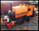 Lego small Saddle Tank (modified)