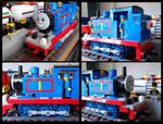 Lego Thomas the Tank Engine (modified)
