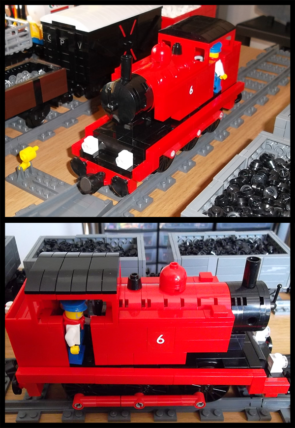 Lego Side Tank Engine by Kumata