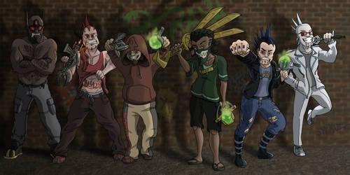 GANG IS ON THE LOOSE (Yo Yo Piraka) by Kumata
