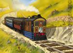 Toby's Vintage Train