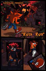 'Ruin Run' page 1