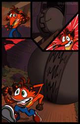 'Ruin Run' page 3
