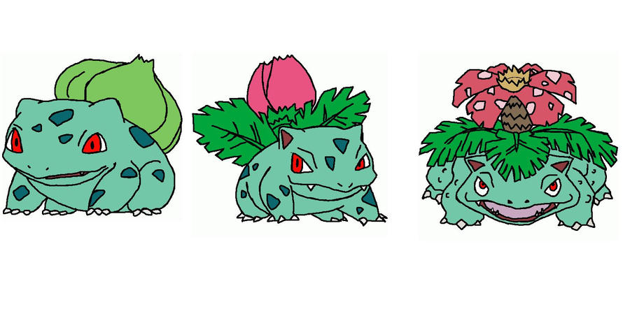 The gallery for --> Ivysaur Evolution