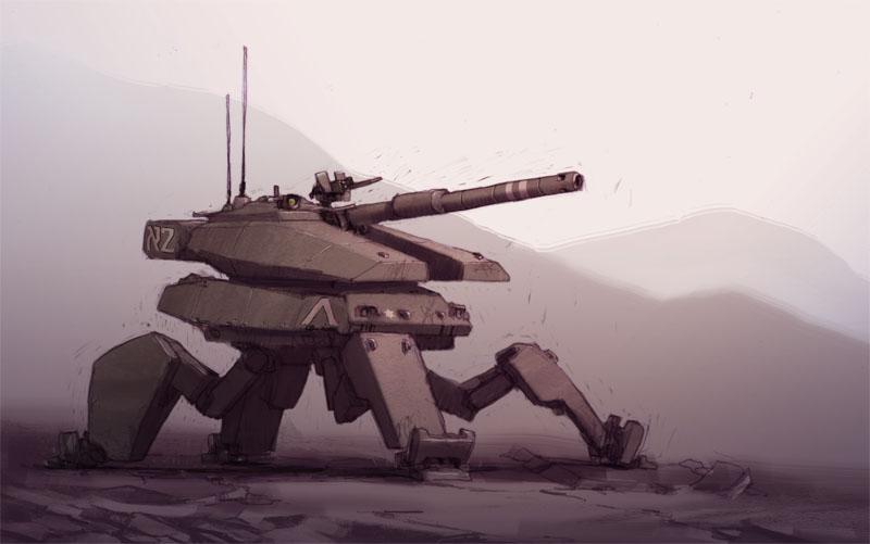 IDF Battle Mech by JakeParker