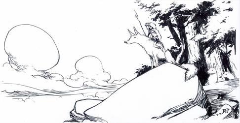 Princess Mononoke by JakeParker