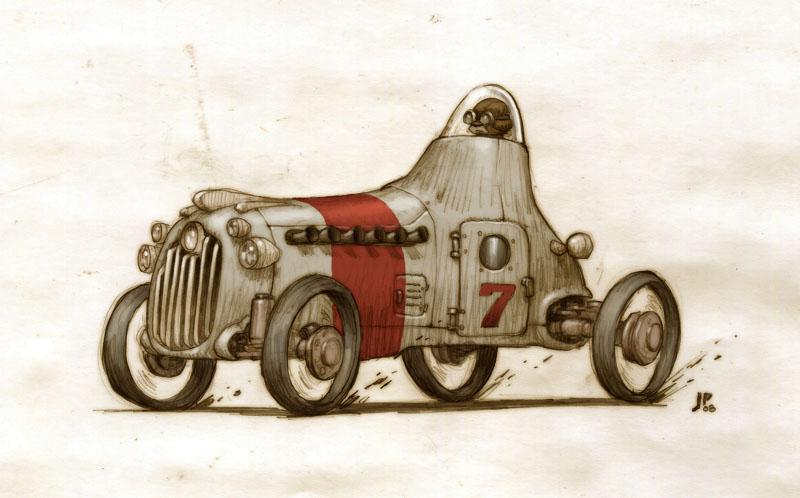 Racer 2 by JakeParker