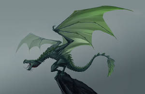 Dragon Concept 01 by JakeParker