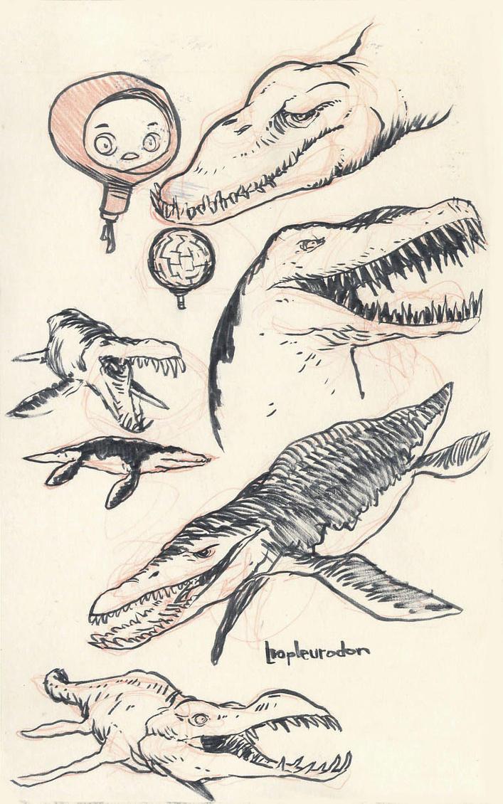 Liopleurodon 01 By JakeParker On DeviantArt