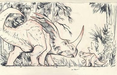 Styracosaurus 02