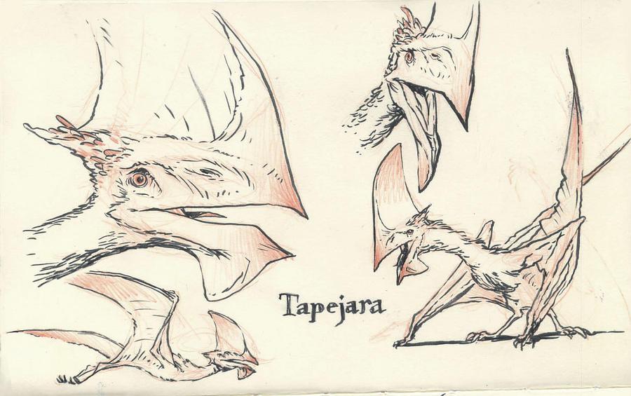 Tapejara 02 By JakeParker On DeviantArt