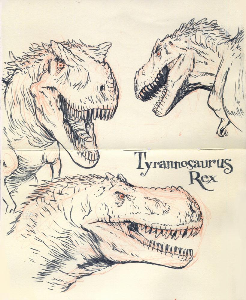 Tyrannosaurus rex 01 by JakeParker