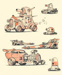 Hotrods and Tanks