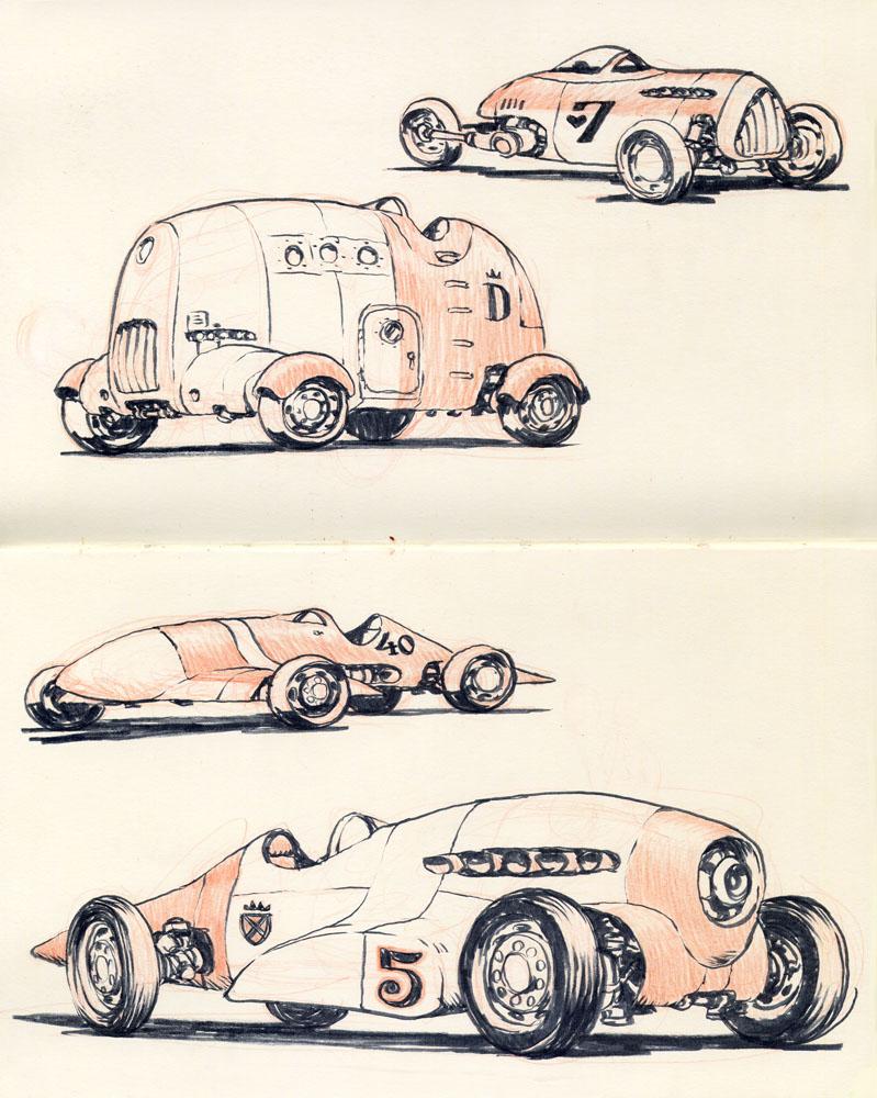 Sketchbook page 5 by JakeParker