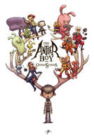 The Antler Boy and Other Stories book cover by JakeParker