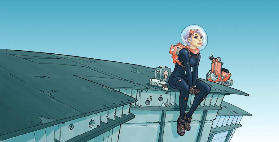 Lucy Nova by JakeParker