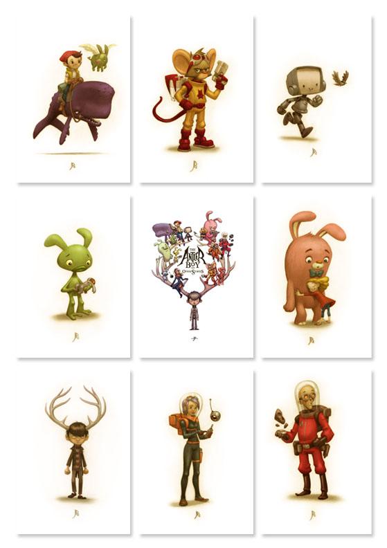Art Cards by JakeParker