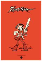 Spaceskull by JakeParker