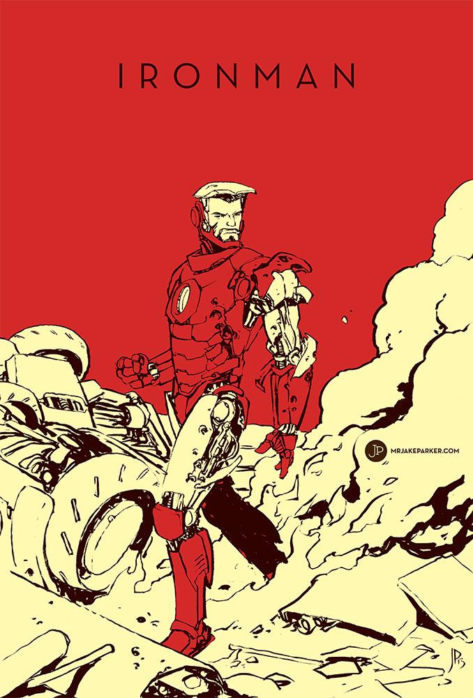 Ironman by JakeParker