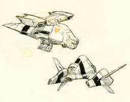 Spaceships by JakeParker