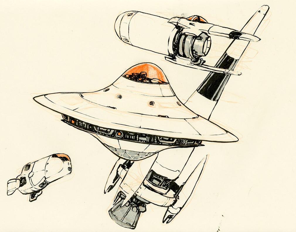 More Spaceships by JakeParker