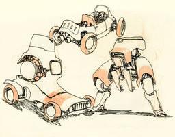 Mechanical Doodling by JakeParker