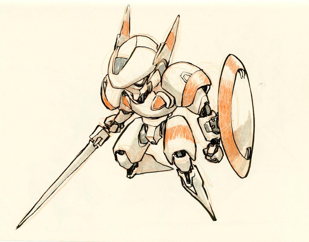 Jet Knight by JakeParker