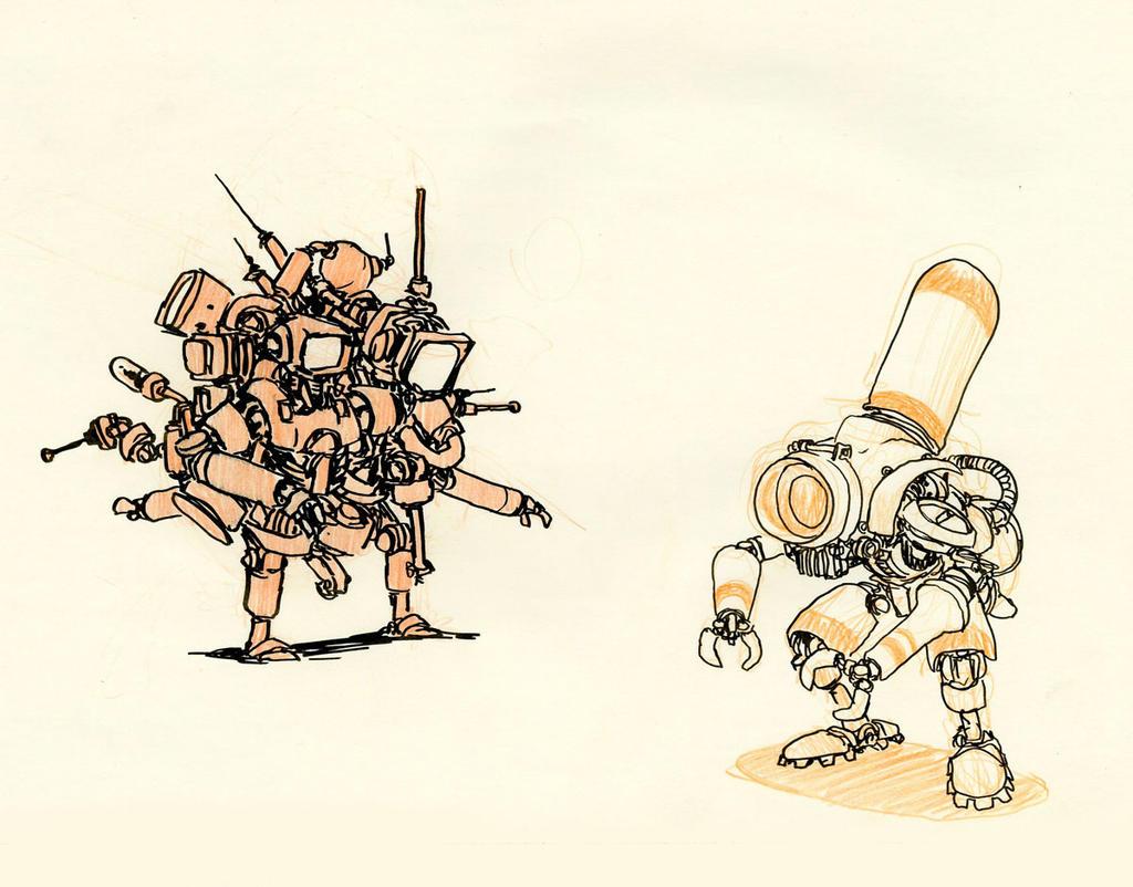 Robots by JakeParker