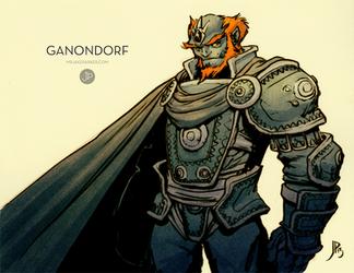 Ganondorf by JakeParker
