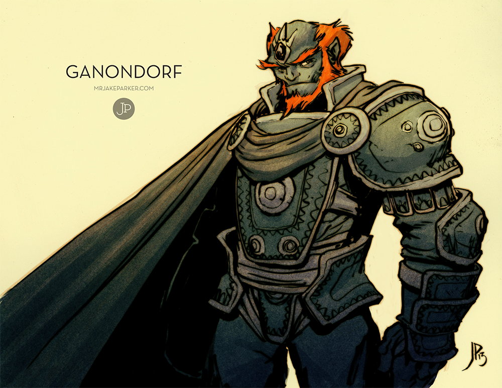 Ganondorf By Jakeparker On Deviantart