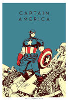CAPTAIN AMERICA by JakeParker