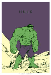 Hulk by JakeParker