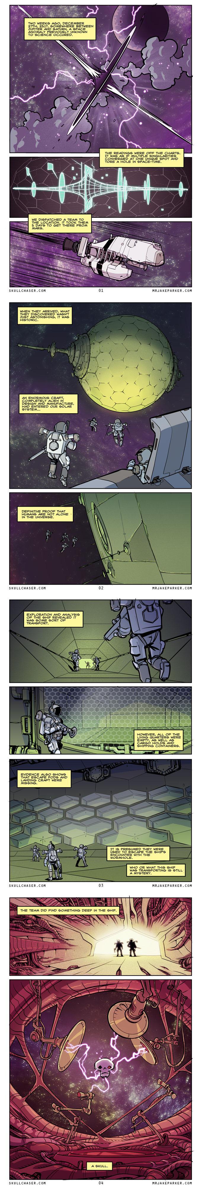 Skull Chaser Intro by JakeParker
