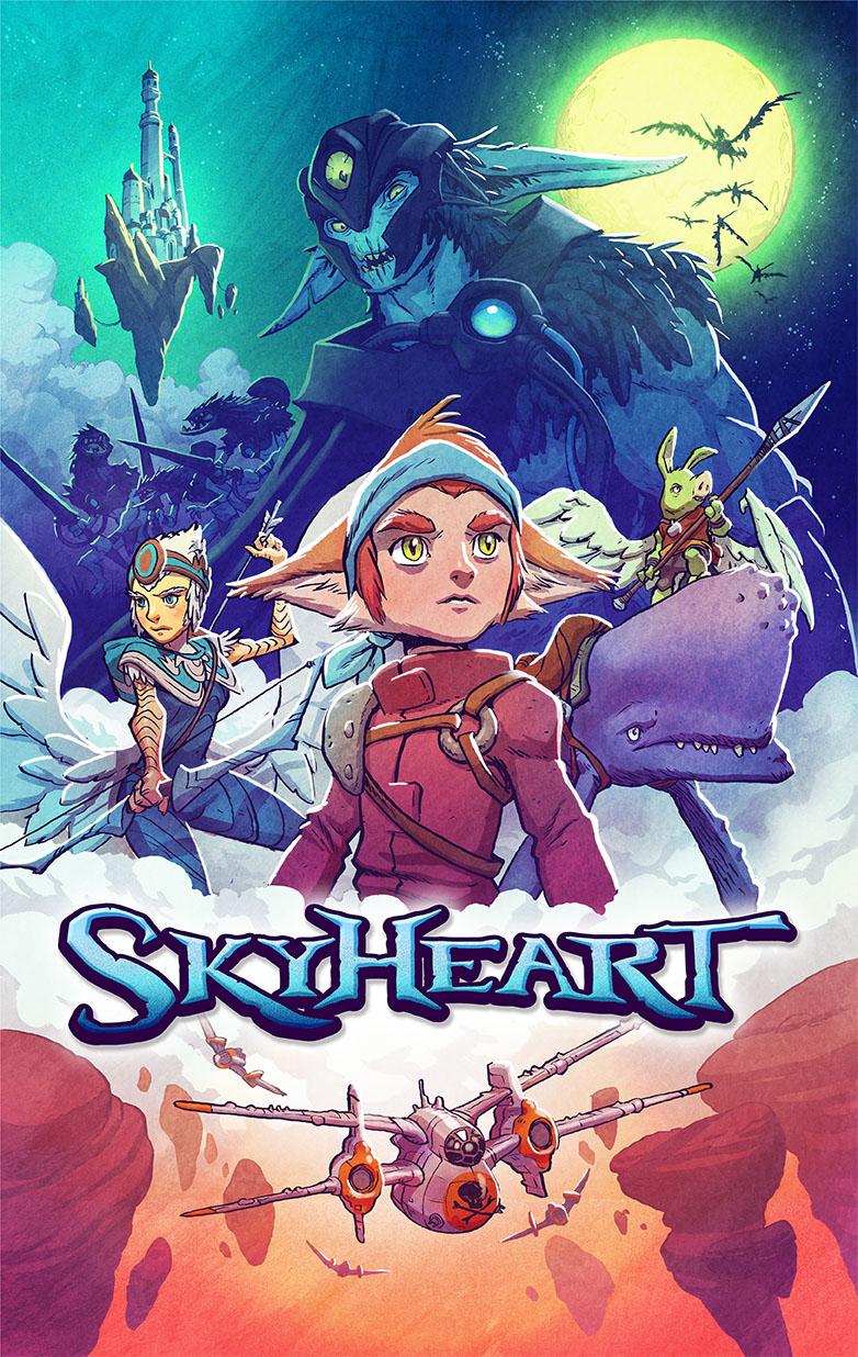 SkyHeart by JakeParker