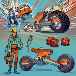 Radical Racer Example Art