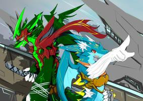 Weird Combination by dragoon86