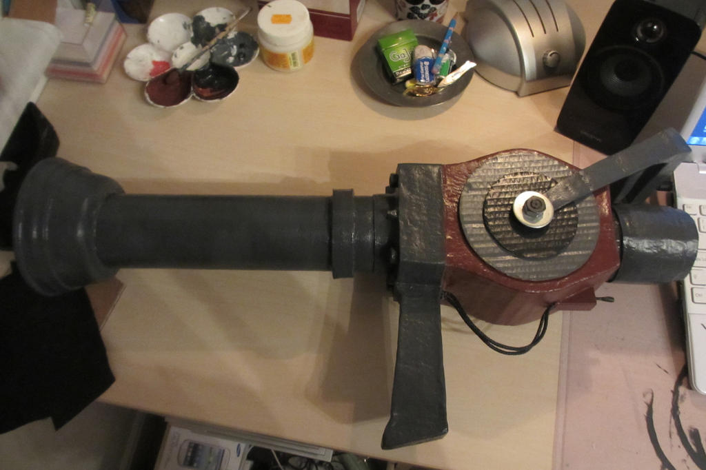 Cosplay W.I.P, Medi-gun by GingerwithHat