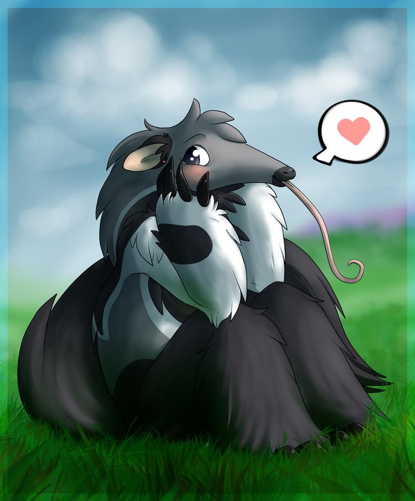 Anteater Squish by PhantomCat