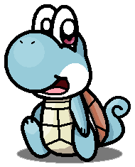Squirtle Yoshi by silvermonochrome