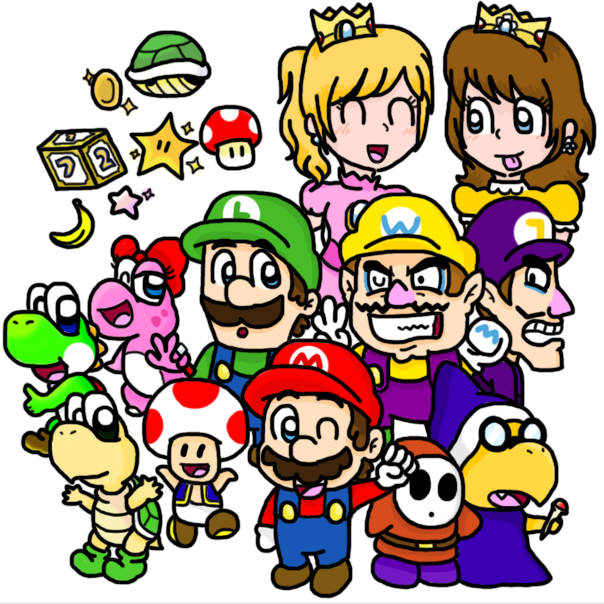 Mario Party 9 - Playables by silvermonochrome