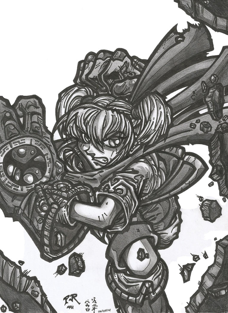 BATTLE CHASERS by PauloJuniorX