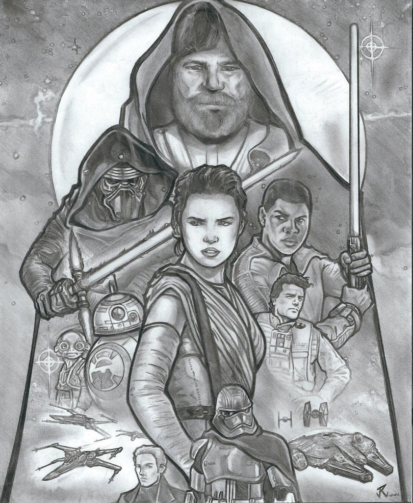 STAR WARS - THE FORCE AWAKENS by PauloJuniorX