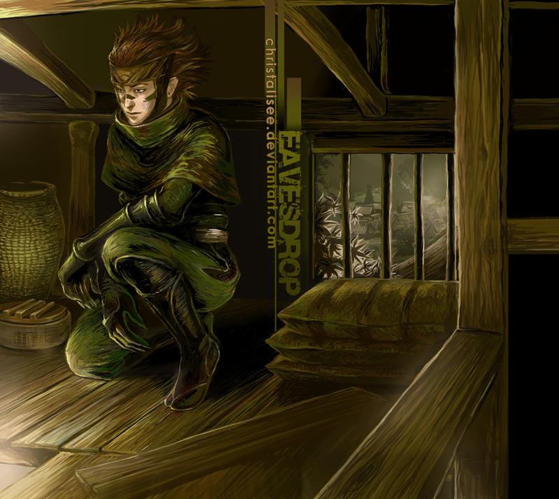 Sarutobi Sasuke - Eavesdrop by christalisee